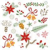 美好的装饰圣诞节和的新年 免版税库存照片