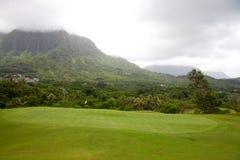 美好的路线高尔夫球 免版税图库摄影