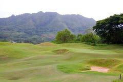 美好的路线高尔夫球 免版税库存图片
