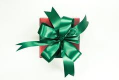 美好的配件箱礼品节假日例证向量 生日、党或者新年,裁减路线 免版税库存照片