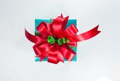 美好的配件箱礼品节假日例证向量 生日、党或者新年,裁减路线 免版税图库摄影