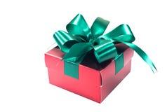 美好的配件箱礼品节假日例证向量 生日、党或者新年,裁减路线 免版税库存图片