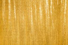 美好的金黄闪烁背景 免版税库存照片