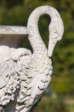 美好的雕塑在肯辛顿庭院里 免版税库存照片