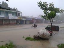 美好的雨季在孟加拉国 库存照片