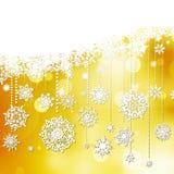 美好的雪花圣诞节。EPS 10 免版税库存照片