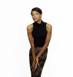 美好的非裔美国人的时尚 免版税库存照片