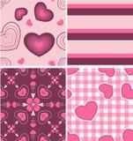 美好的颜色组合模式粉红色 免版税库存照片