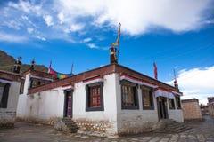 美好的风景在中国的西藏 免版税图库摄影