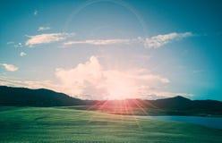 美好的风景早晨 库存照片