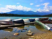 美好的风景, Patricia湖碧玉 库存图片