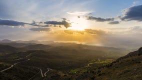 美好的风景4K timelapse在希腊 股票录像