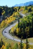美好的高速公路形状 图库摄影