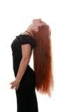 美好的头发红色 免版税库存照片