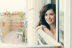 美好的35岁画象妇女 图库摄影