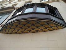 美好的建筑学在布鲁塞尔 免版税库存照片
