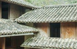 美好的建筑学木房子, Vuong的议院宫殿 库存图片
