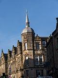 美好的建筑学的细节在兰卡斯特英国在城市的中心 库存照片