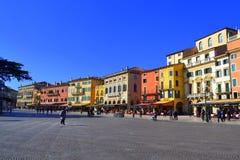 美好的维罗纳视图,意大利 免版税库存照片