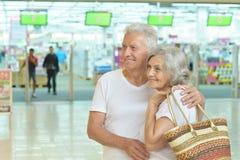 美好的年长夫妇 免版税库存图片
