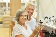 美好的年长夫妇 免版税图库摄影