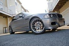 美好的BMW m3 E46风俗 库存照片