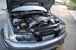 美好的BMW m3 E46风俗 库存图片