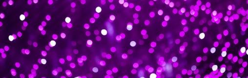 美好的Bokeh紫色淡紫色梯度背景 免版税图库摄影