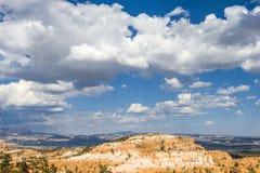 美好的bryce峡谷横向 免版税库存照片