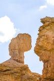 美好的bryce峡谷横向 免版税库存图片