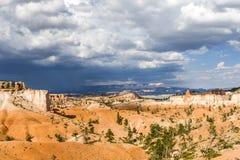 美好的bryce峡谷横向 免版税图库摄影