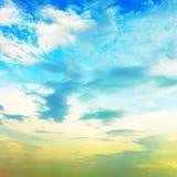 美好的cloudscape 库存图片
