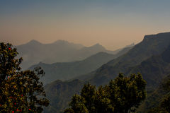 美好的Kodai山脉 免版税库存图片