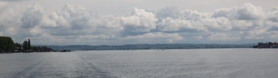 美好的lakeview全景 库存照片