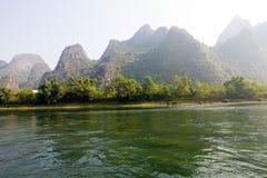 美好的lijiang河风景 库存图片