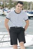 美好的sailorman yatch 图库摄影