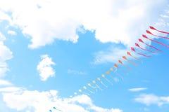 美好风筝漂移 库存照片