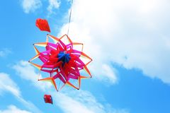 美好风筝漂移 库存图片
