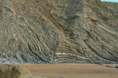 美妙和奇怪海滩巴里卡 库存照片