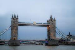 美妙的伦敦地平线 库存照片