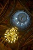 美妙的内部天花板 免版税库存照片