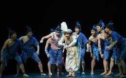 """美妙的单簧管-跳舞戏曲海丝绸Road† """"The梦想  免版税图库摄影"""