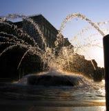 美妙的喷泉 免版税库存图片