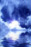 美妙的天空 免版税库存照片