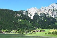 美妙的奥地利阿尔卑斯 库存照片