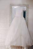 美妙的婚礼之日 免版税库存图片