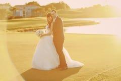 美妙的婚礼之日 图库摄影