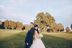 美妙的婚礼之日 免版税图库摄影