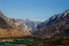 美妙的山在墨西哥 免版税图库摄影