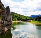 美妙的岩石 库存图片